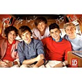 One Direction Group Single Cover Music Poster