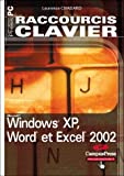 Raccourcis Clavier, Windows XP, Word et Excel 2002