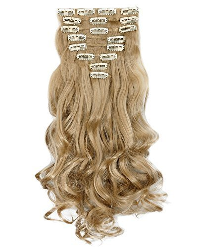 s-noiliter-24-curly-ash-blonde-full-head-hairpiece-clip-in-hair-extensions-8-piece-18-clips-new-prod