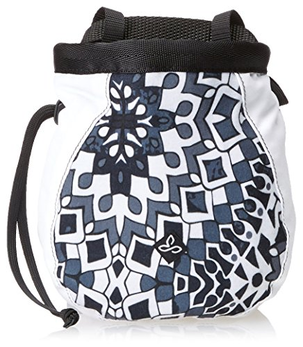 prAna Chalk Bag with Belt (Large), Black Gardenia, One Size