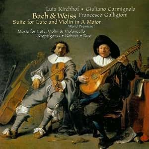 Pièces baroques pour luth, violon & violoncelle