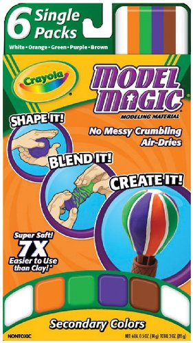 Crayola Model Magic Single Packs Secondary Colors