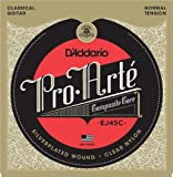 D\'Addario EJ45C Pro-Arte Composite Classical Guitar Strings, Normal Tension