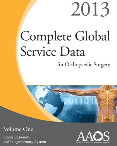 Complete Global Service Data for Orthopaedic Surgery 2013