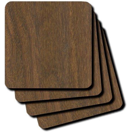 3drose Cst 41630 2 Teak Wood Soft Coasters Set Of 8 Shop In
