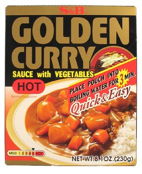 S&B - Golden Curry Quick & Easy Pouch - Hot 8.1 Oz.