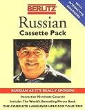 echange, troc Berlitz Guides - Berlitz Russian Cassette Pack: Russian As It's Really Spoken!