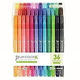 トンボ鉛筆 水性ペン プレイカラーK 36色 GCF-013