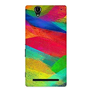 Special Colors Fly Back Case Cover for Sony Xperia T2