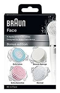 ブラウン 80-m Face ブラウンフェイス洗顔ブラシ コンボパック 4種詰め合わせ