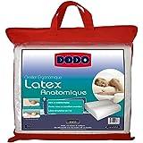 DODO 60080.554 Oreiller Ergonomique Latex 55 cm x 40 cm Ergonomique