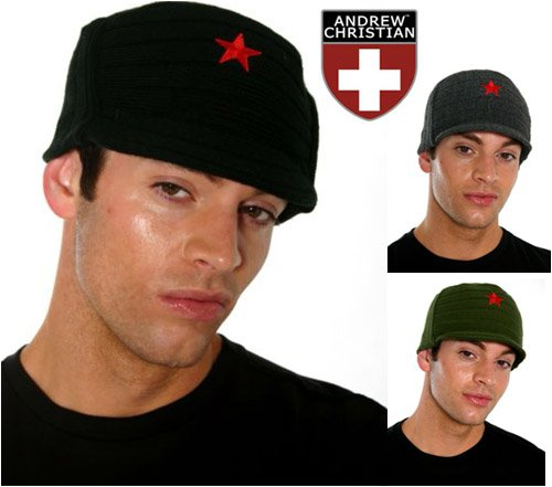 Andrew Christian ''China Star'' Jeep Cap - Buy Andrew Christian ''China Star'' Jeep Cap - Purchase Andrew Christian ''China Star'' Jeep Cap (Andrew Christian, Andrew Christian Hats, Womens Andrew Christian Hats, Apparel, Departments, Accessories, Women's Accessories, Hats)