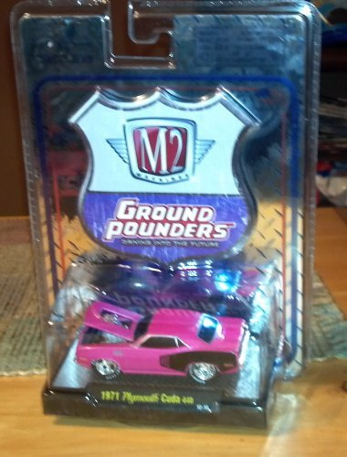 M2 Machines Ground Pounders 1971 Plymouth Cuda
