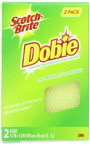 Scotch-Brite Dobie All Purpose Pads 722, 2-Count (Pack Of 5) front-352863