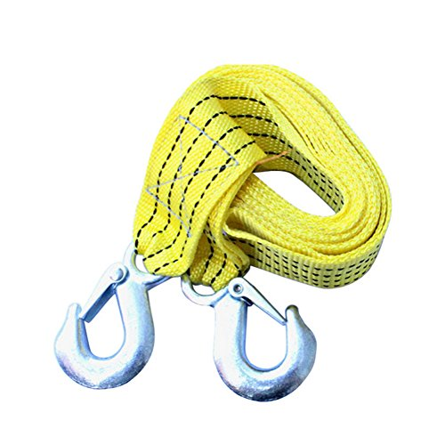 Hongshida Emergency 3 Tons Heavy Duty Tow Strap with Spring Latch Hooks (Master Tow Dolly compare prices)