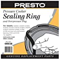 National Presto Ind 09936 Pressure Cooker Sealing Ring With Automatic Air Vent by National Presto Ind