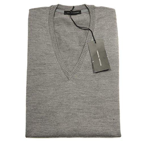 56263 maglione ROBERTO COLLINA maglia uomo sweater men grigio [52]