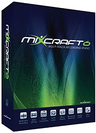 Acoustica Mixcraft V.6 - Windows