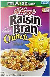 Kellogg\'s Raisin Bran Raisin Bran Crunch Cereal - 18.2 oz