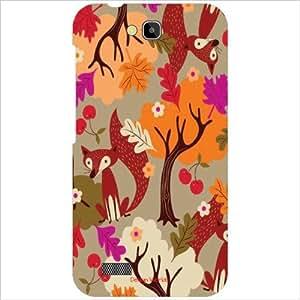 Design Worlds - Honor Holly Hol-U19 Designer Back Cover Case - Multicolor P...