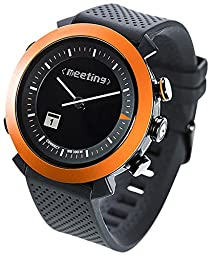COGITO Classic Smart Bluetooth Connected Watch for Smartphones - Clockwork Orange