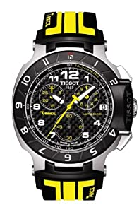 Tissot T048.417.27.202.01 T Race Moto GP Chronograph Black & Yellow Strap Mens Watch