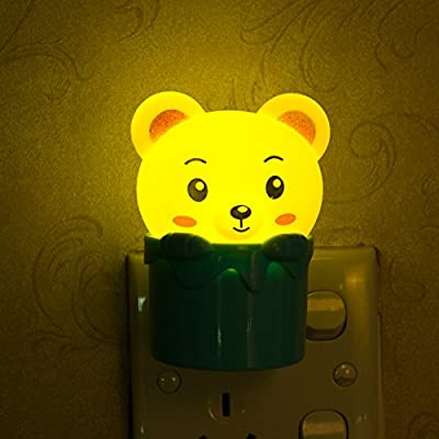 Vafee® Wall LED Night Light with Photosentive Switch,Great Gift for Children Girls