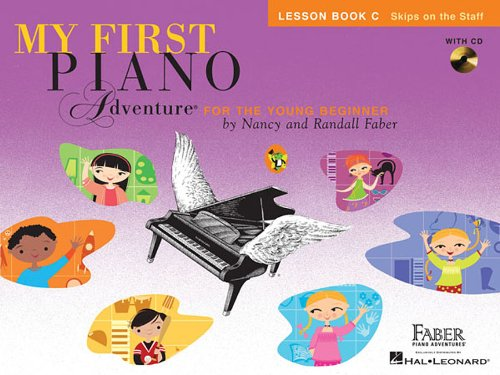 My First Piano Adventure: Lesson Book C with Play-Along & Listening CD