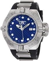 Mens Watch Invicta 1155 Subaqua Stainless Steel Subaqua GMT 500M Diver Blue Dial