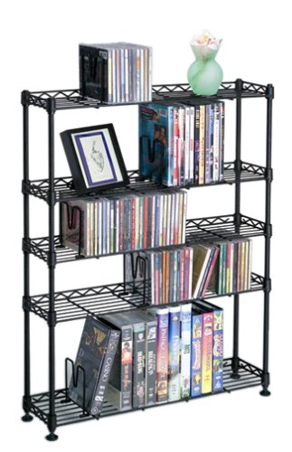 Atlantic Maxsteel 3010  270 CD/152 DVD/76 VHS Rack (Atlantic Can Rack compare prices)