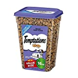 TEMPTATIONS Classic Treats for Cats Creamy Dairy Flavor 16 Ounces
