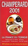 echange, troc MARC DE CHAMPERARD - Champerard 2001