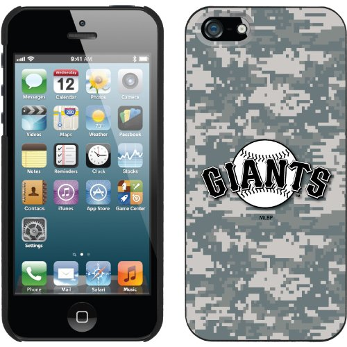 Great Price San Francisco Giants - Digi Camo Giants design on a Black iPhone 5s / 5 Thinshield Snap-On Case by Coveroo