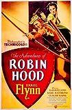 The Adventures of Robin Hood Vintage Errol Flynn Movie Poster