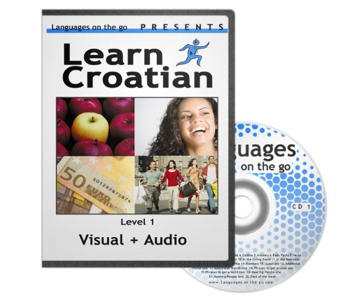 Learn Croatian *Visual language learning* for PC, MAC, Ipod, MP3 player