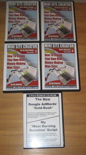 Jim Edward's Mini Site Creator Internet Marketing Package