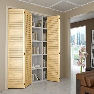 Amazon.com - Bi-fold Door, Louver Louver Plantation
