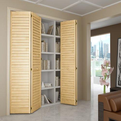 Bi-fold Door, Louver Louver Plantation 1x36x80 picture