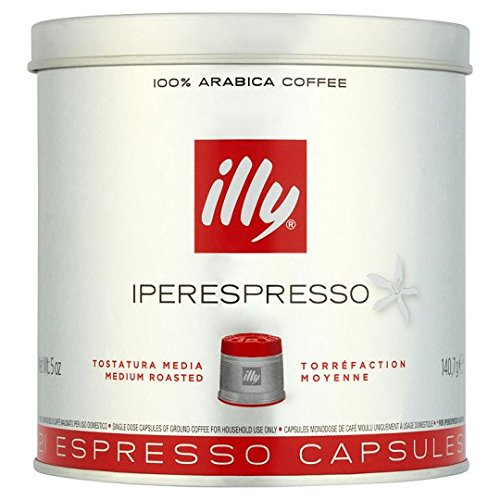 Purchase Illy Espresso Medium Roast Coffee Pods 21 Servings from Illy