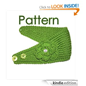 Headband Knitting Pattern With Crochet And Knitted Flower