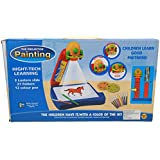Babytintin The Projector Painting With High-tech Learning + 3 Lanterns Slides+ 21 Patterns + 12 Color Pens+ Painting...