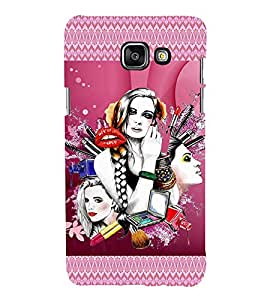 iFasho fashion Girls Back Case Cover for Samsung Galaxy A7 A710 (2016 Edition)