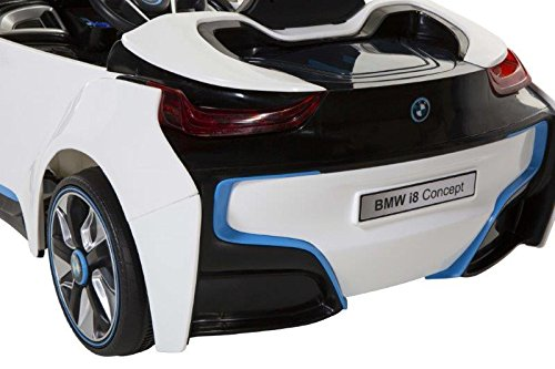bmw i8 concept 6 volt electric ride on car white black. Black Bedroom Furniture Sets. Home Design Ideas