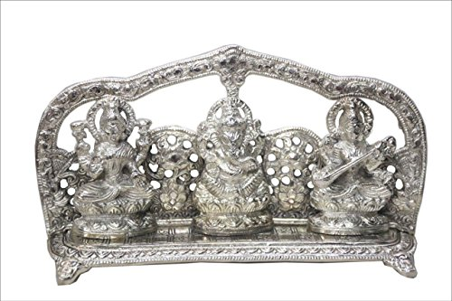 lightahead-goddess-lakshmi-lord-ganesh-goddess-saraswati-on-a-throne-in-white-metal-statue-of-hindu-