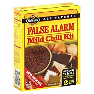 False Alarm Chili Kit, 3.25 Oz -- 12 Per Case.