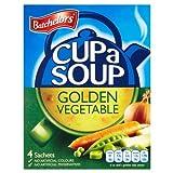 Batchelors Cup a Soup Golden Vegetable 4 Sachets 9 x 82g
