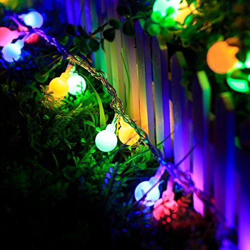 Globe Patio Lights Le Globe Ball Fairy String Lights 33ft 100 Leds Rgb  Colorful 8