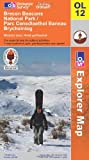 Brecon Beacons National Park: Western and Central Areas (OS Explorer Map)