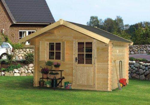 skan holz blockbohlenhaus como gr e 1 300 x 200 cm. Black Bedroom Furniture Sets. Home Design Ideas