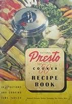 National Presto 50 Cooker Recipe Book:…